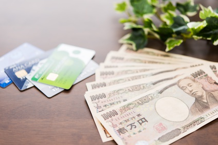 カードと現金